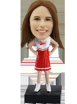 Customised Bobblehead Cheerleader