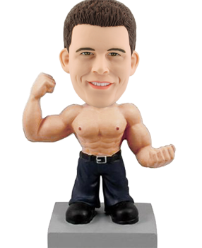 Bobblehead Doll Muscle Man