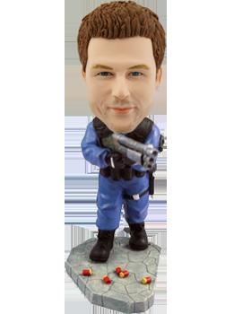 Customised Bobblehead Soldier