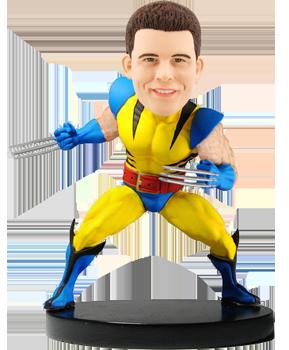 Customised Marvel Wolverine Bobblehead