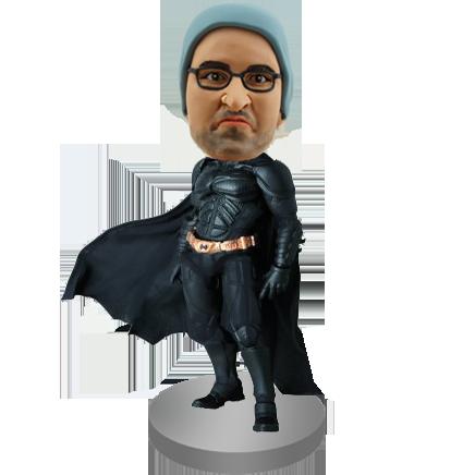 Dark Knight Rises Batman Custom Bobblehead