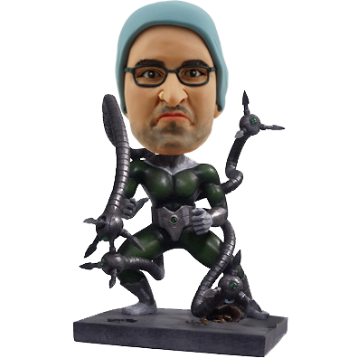 Doctor Octopus Personalized Bobblehead