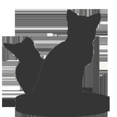 Custom cat figurine