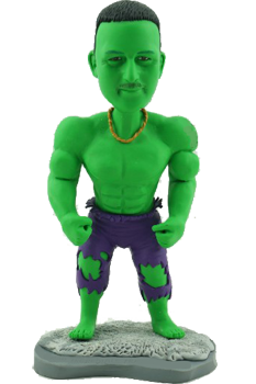 Custom Bobblehead Incredible Hulk
