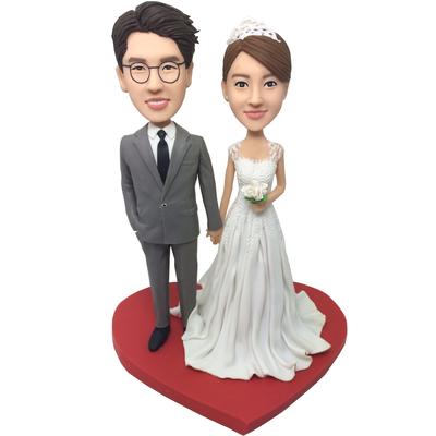 Happy Wedding Bobbleheads