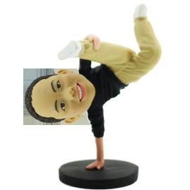 Hip-hop Boy Custom Bobblehead