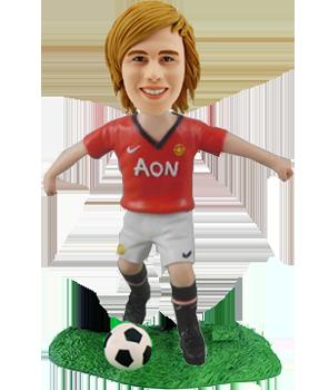 Manchester United Football Fan Bobblehead