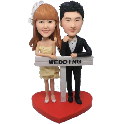 Newlyweds Custom Bobbles