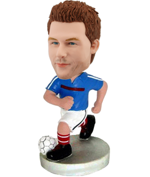 Custom France Football bobble head