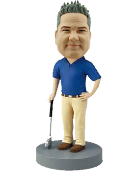 Personalised Golf Buddy Bobble Head