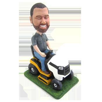 Riding Mower Bobblehead