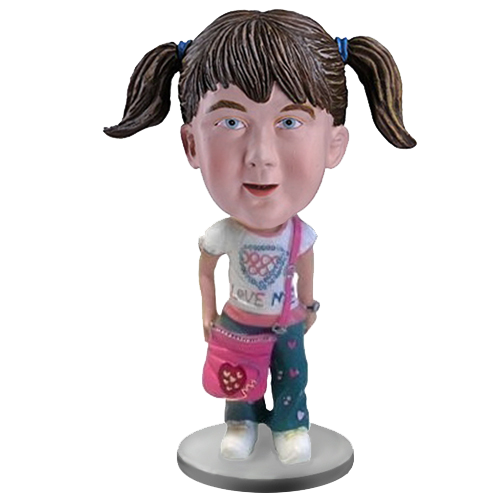 Fashion School Girl Custom Bobblehead