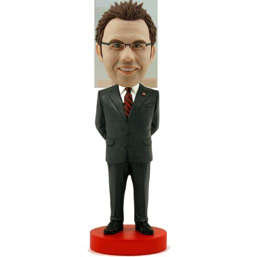 Smart Man Personalised Bobble Head