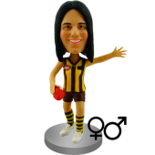 Australian Rules Football Custom Bobblehead