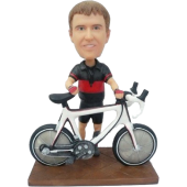 Bicycle Buddy Bobblehead