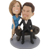 Boss Couple Bobbleheads