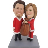 Christmas Gift Couple Bobbleheads