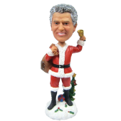 Christmas Man Bobble Head