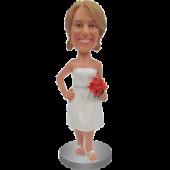 Classic Bridesmaid Bobble Head