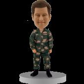Custom Bobblehead Australian Army