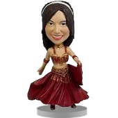 Custom Belly Dancer Bobblehead