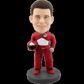 Custom Bobblehead Formula 1 Racer