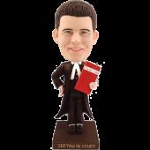 Custom bobblehead Lawyer