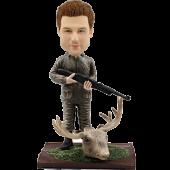 Custom hunter bobble head