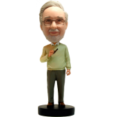 Custom Professor Bobblehead