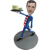 Custom Waiter Bobblehead