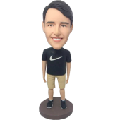 Customized Casual Man Bobblehead
