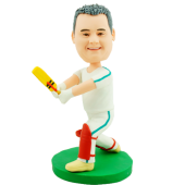 Custom Bobblehead Cricket Player