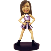 Custom Bobblehead Female Dancer