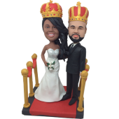 King and Queen Custom Bobbles