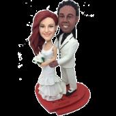 Lovely Wedding Cake Topper