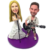 Music Couple Bobble Heads