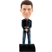 Personalized bobblehead Marine