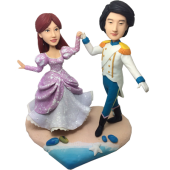 Prince and Priceness Wedding Bobbles