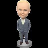 Ring Boy Custom Bobblehead