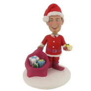 Christmas Father Bobblehead
