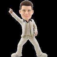 Custom Bobble Head Man Dancer