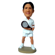 Custom Bobble Head Tennis Man