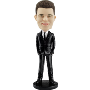 Custom Bobblehead Smart Man