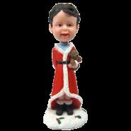 Custom bobble head Christmas Kid
