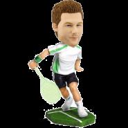 Custom tennis bobblehead