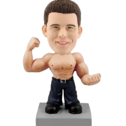 Customised Bobblehead Doll Muscle Man