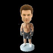 Custom Kickboxing bobblehead