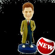 Doctor Who Style Custom Bobblehead
