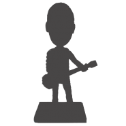 Fully Custom Guitarist Bobblehead
