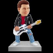 Rock N Roll Guitarist Bobblehead